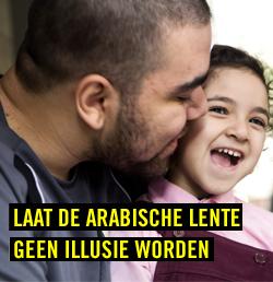 Campagne: Laat de Arabische Lente geen illusie worden