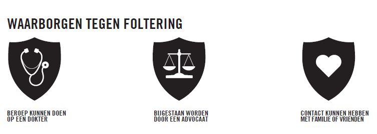 Waarborgen tegen foltering