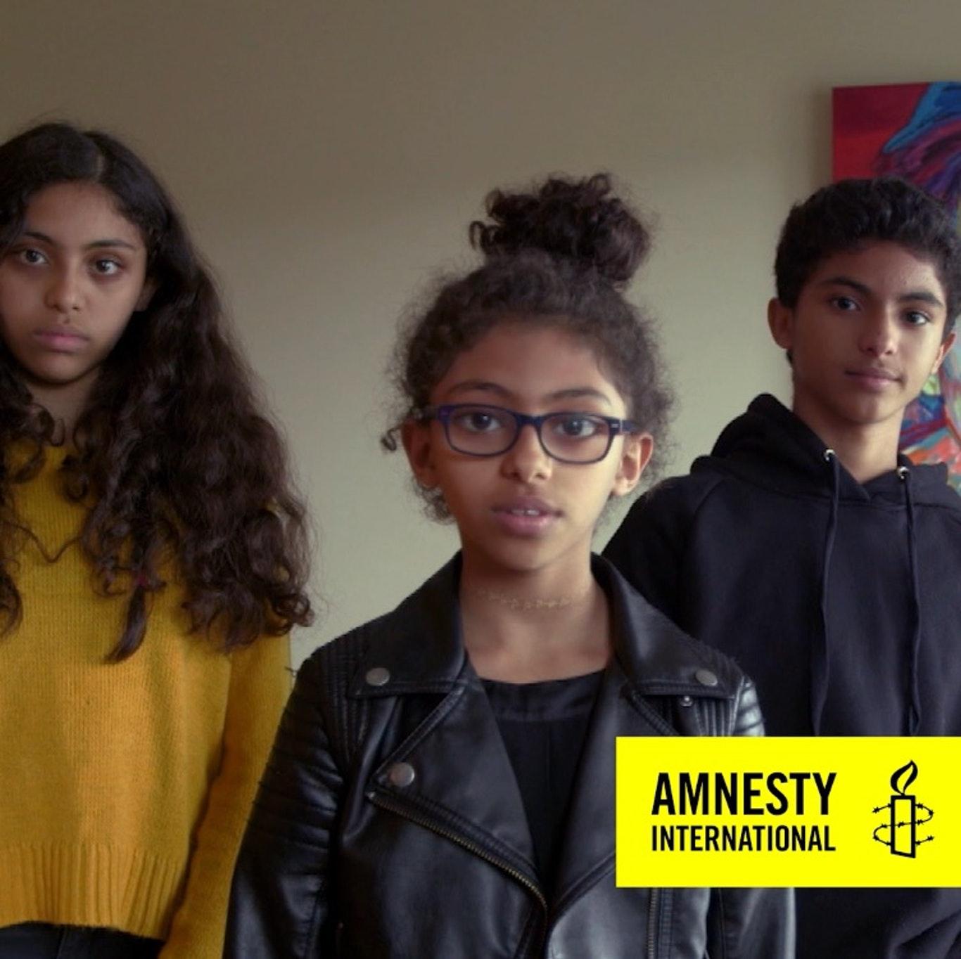 De kinderen van Raif Badawi