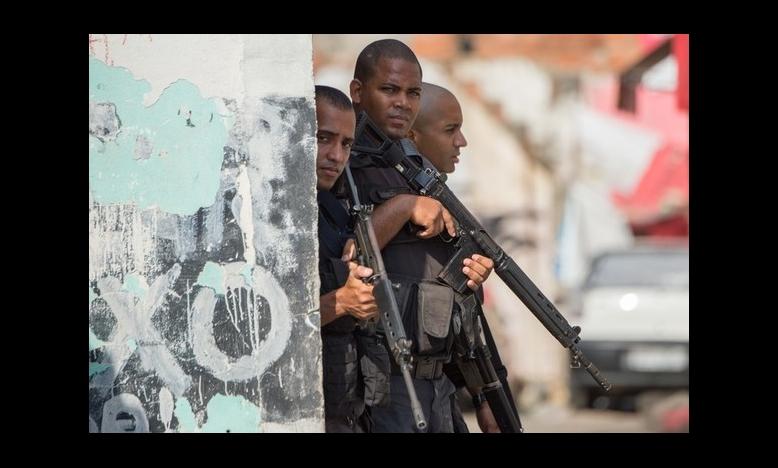 Politie in Rio - Foto: AFP