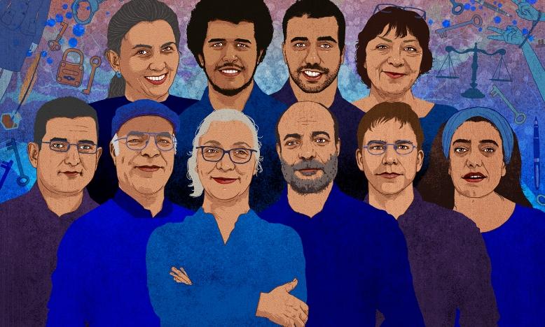 Turkije - Ogen van de wereld gericht op 'showproces' tegen mensenrechtenactivisten