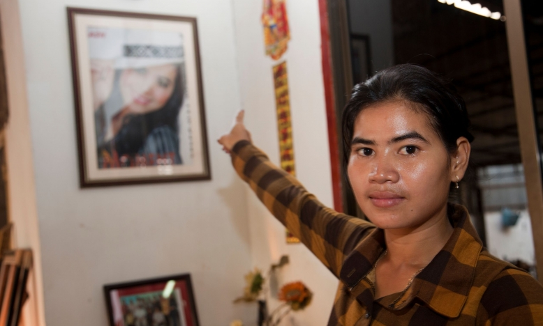 Update: Tep Vanny nog steeds onterecht in de cel
