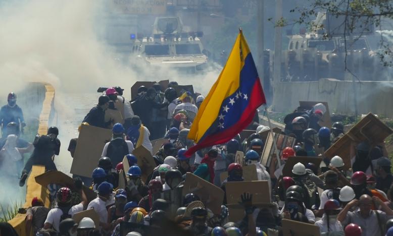 Geweld in Venezuela: overheid neemt het niet nauw met mensenrechten