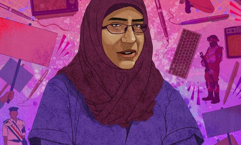 Egypte laat activiste Hanan Badr el-Din vrij
