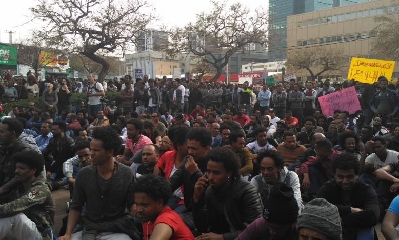 Afrikaanse asielzoekers in Tel Aviv