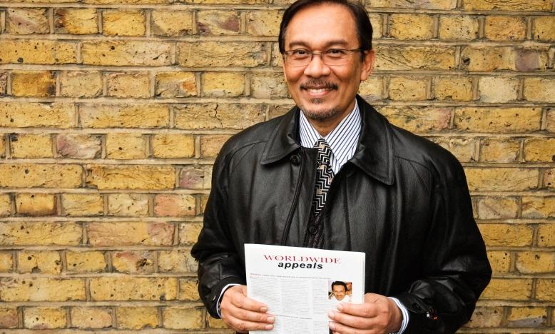 Anwar Ibrahim uit Maleisië is vrijgelaten