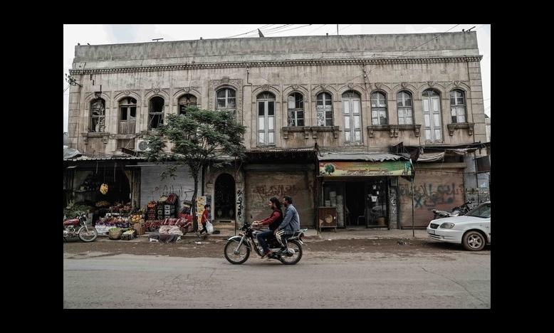 Syrische stad Afrin