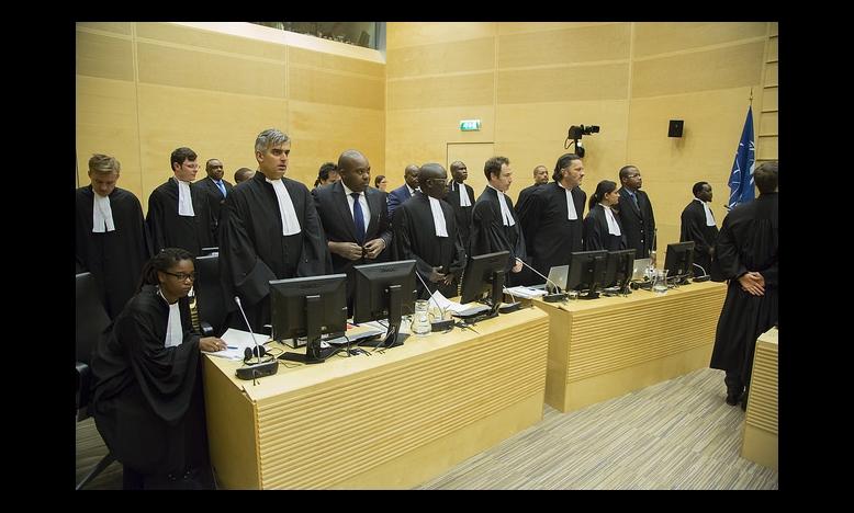 Opening van de zitting van de aanklager tegen BEMBA et al. © ICC