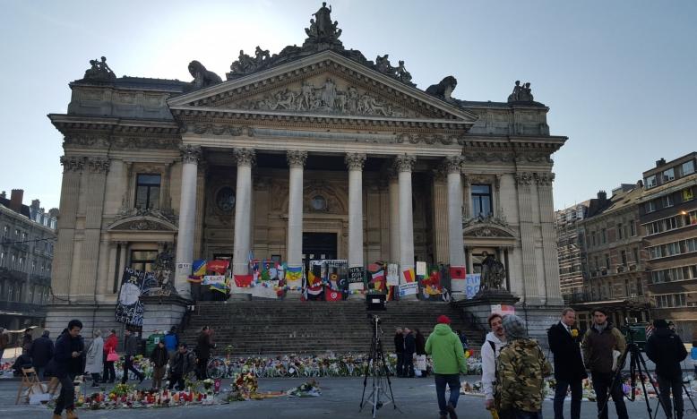 Beurs, Brussel na terroristische aanslagen in maart 2016