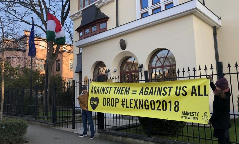 NGO's dreigen opgedoekt te worden in Hongarije
