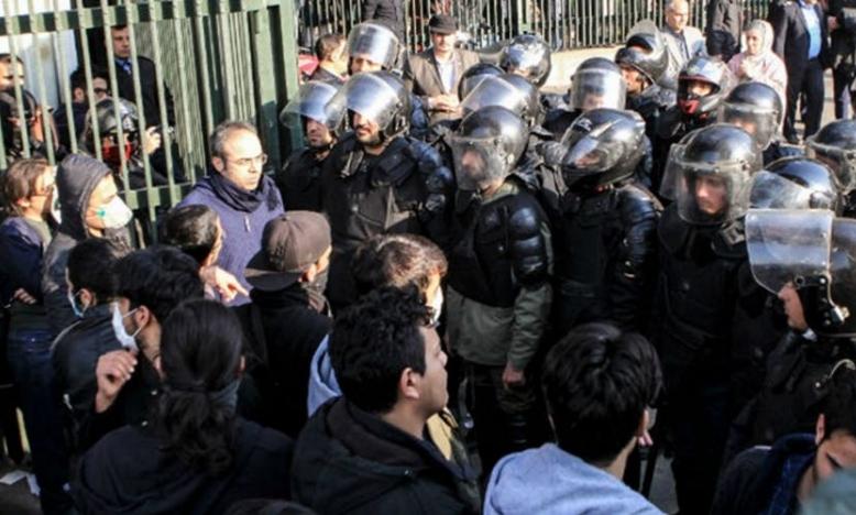 Iran: stop het meedogenloze optreden tegen demonstranten