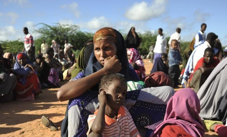 Somalische vluchtelingen in Dadaab