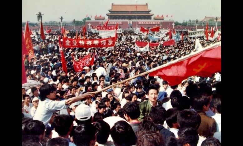 Tianamenprotest © Hong Kong Alliance