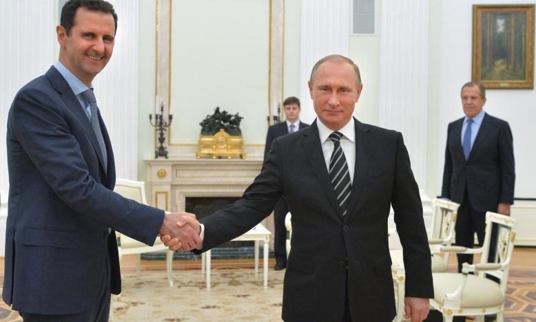 Poetin-Assad Jaarverslag Amnesty