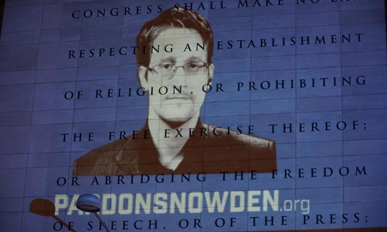 Edward Snowden, actie Amnesty VS