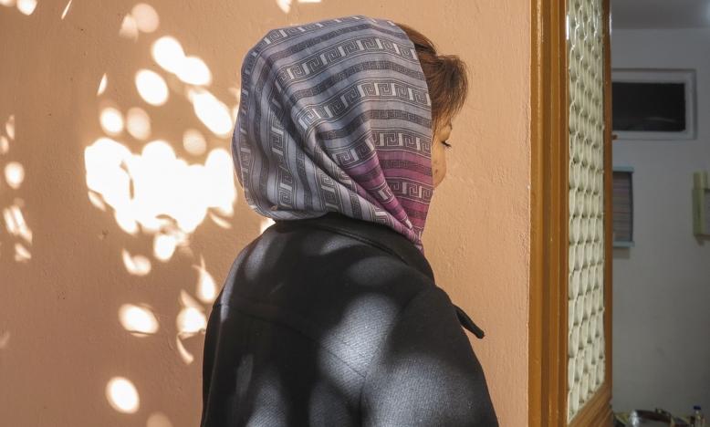 Afghaanse vluchteling op Lesbos ©Yara Boff Tonella