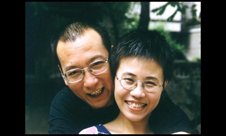 Liu Xia & Nobelprijswinnaar Liu Xiaobo