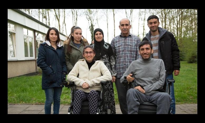 Syrische vluchtelingen Alan, Gyan en hun familie