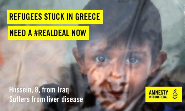 vluchtelingen op Chios © Giorgos Moutafis/Amnesty International