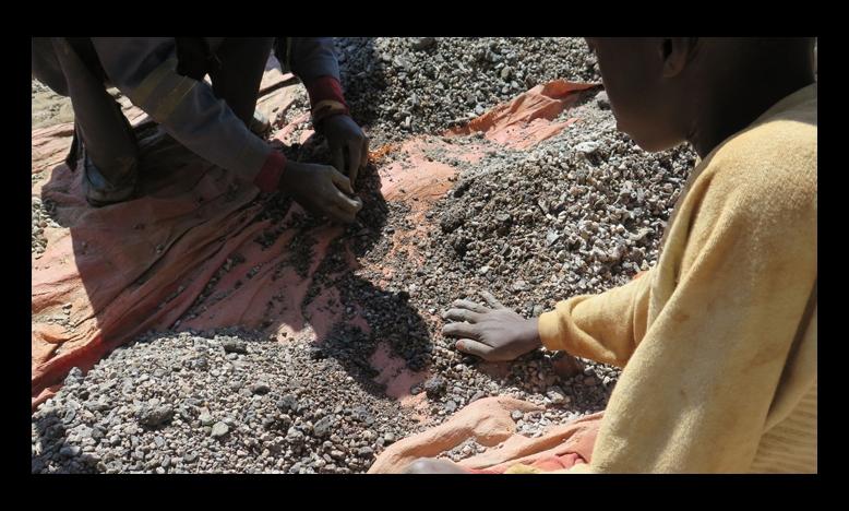 Kinderarbeid in DRC