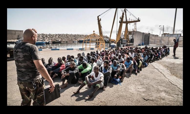 Vluchtelingen en migranten in Libië