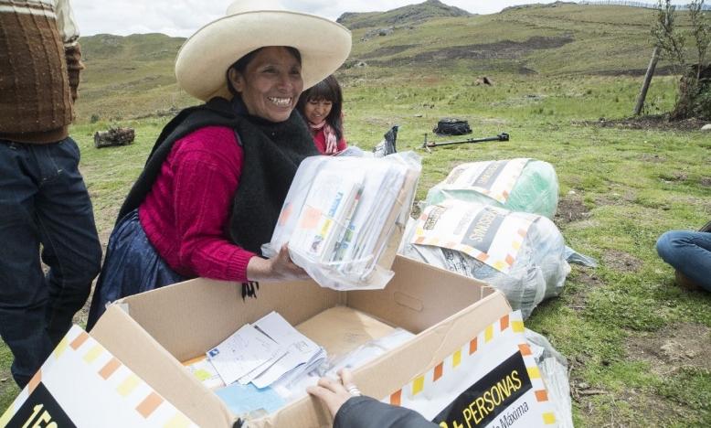 Máxima Acuña kreeg tienduizenden brieven