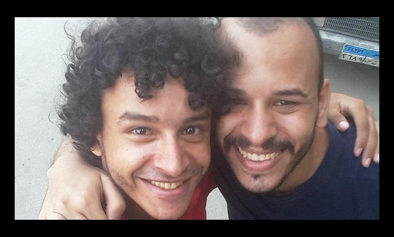 Mahmoud Hussein en zijn broer Tarek