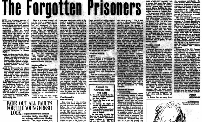The Forgotten Prisoners - 28 mei 1961 - The Obesrver