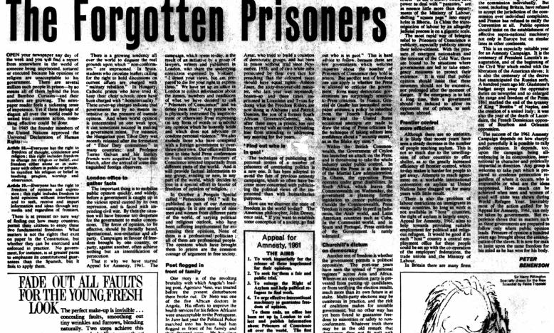 The Forgotten Prisoners - 28 mei 1961 - The Obesrver