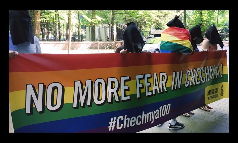Actie tegen vervolging homomannen in Tsjetsjenië