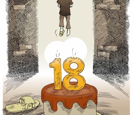 Hypocrisie in Iran: tientallen minderjarige daders veroordeeld tot de doodstraf