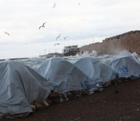 Haal vluchtelingen van Griekse eilanden ©Giorgos Moutafis/Amnesty International
