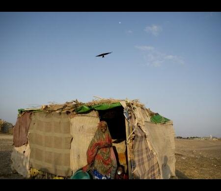 Een vluchtelinge in Jemen