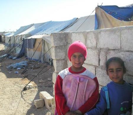 Kinderen in Al-Tanf Foto: UNHCR/B. Diab