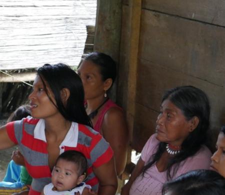 Inheemse en afro-Colombiaanse gemeenschappen in gevaar