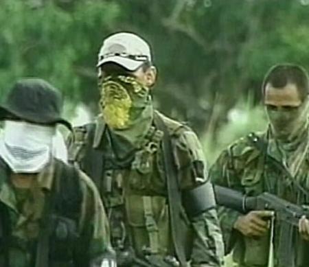 Rebellen van FARC © APGraphicsBank