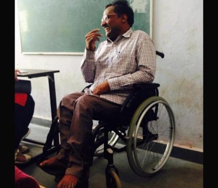 Leven van mensenrechtenverdediger GN Saibaba is in gevaar. Teken de petitie