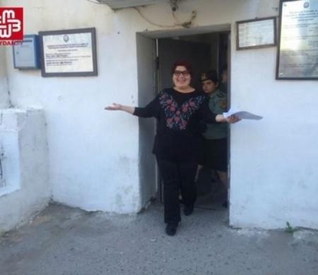 Khadija Ismayilova is vrij © Meydan TV
