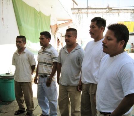 Manuel Cruz, Orlando Manzanarez, Natalio Ortega, Romualdo Santiago en Raúl Herná