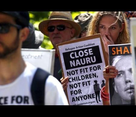 Vluchtelingenproblematiek Australië