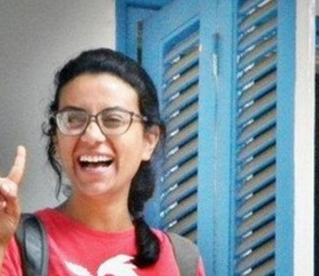 Egyptische Mahienour el-Massry vrij