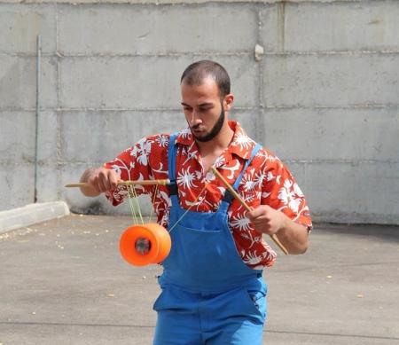 Mohammad Abu Sakha ©Palestinian Circus School
