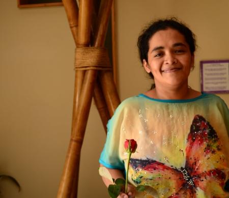 Vrijgelaten Maria Teresa bedankt alle activisten voor hun steun