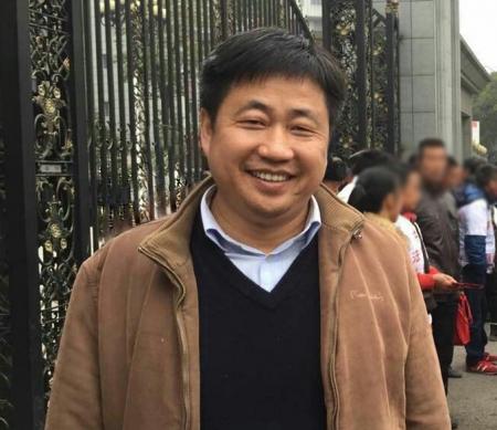 Xie Yang op 9 januari 2016 © Private