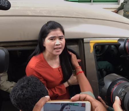 Cambodjaanse activiste Tep Vanny
