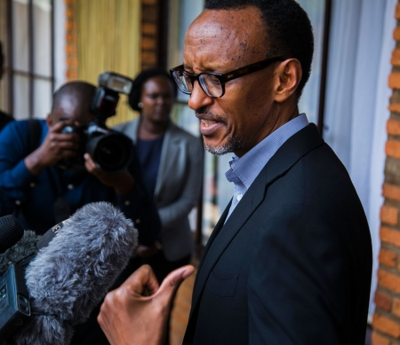 President Paul Kagame ©CYRIL NDEGEYA/AFP/Getty Images