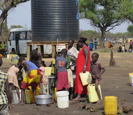 Zuid-Soedanese vluchtelingen in Oeganda