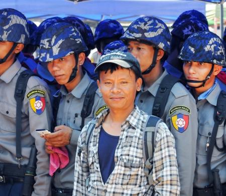 Journalisten en activisten Myanmar vrij  - foto: Steve Tickner