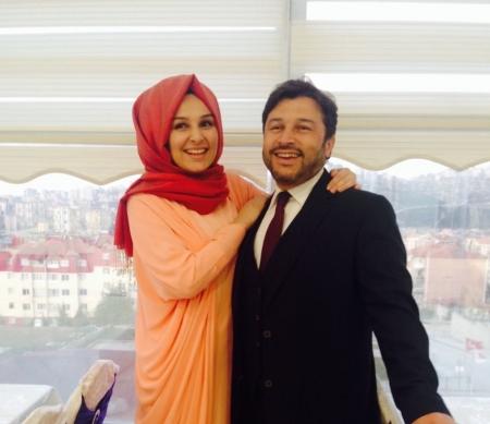 Taner Kilic en zijn echtgenote