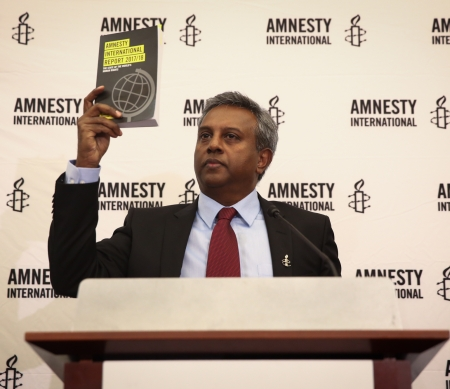 Salil Shetty, Secretaris-Generaal van Amnesty International